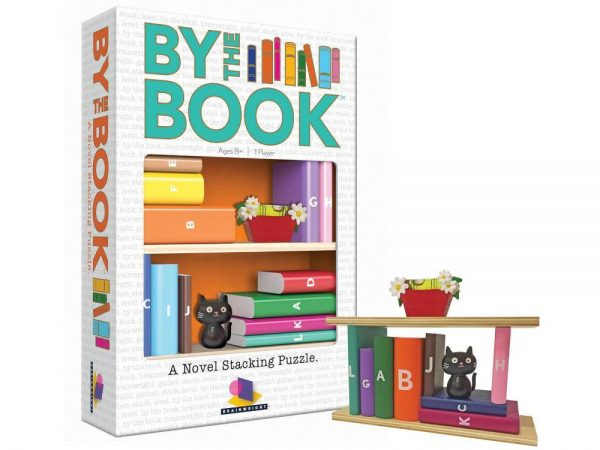 By the Book Novel Stacking Puzzle