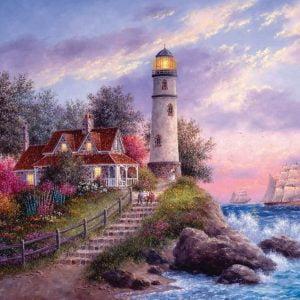 Captain's Cove 1000 Piece Sunsout Jigsaw Puzzle