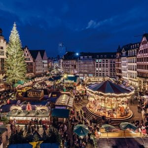 Christmas in Frankfurt 1000 Piece Jumbo Jigsaw Puzzle