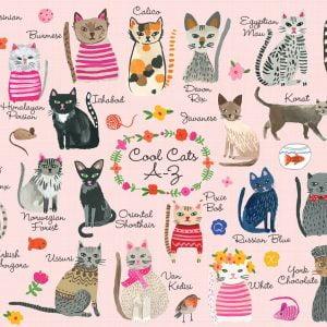 Cool Cats 1000 Piece Mudpuppy Jigsaw Puzzle