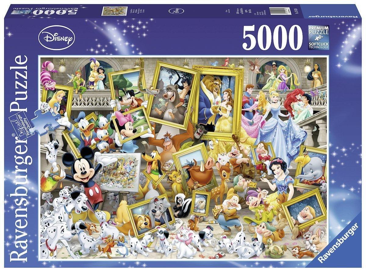 DISNEY FAVOURITE FRIENDS 5000 PIECE JIGSAW PUZZLE - RAVENSBURGER