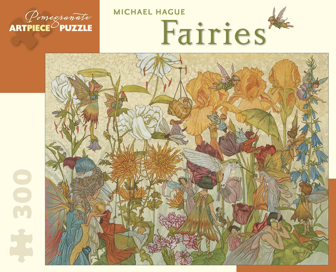 Fairies 300 Larger Piece Pomegranate Jigsaw Puzzle