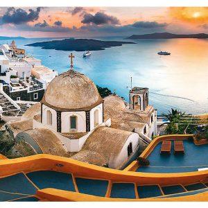 Fairytale Santorini 1000 Piece Jigsaw Puzzle