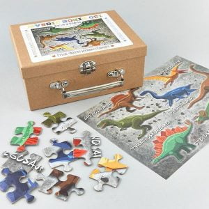 Floss & Rock - Dinosaur 130 Piece Jigsaw Puzzle