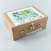 Floss & Rock World 130 Piece Jigsaw Puzzle