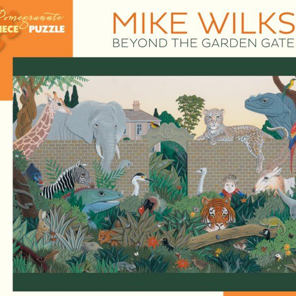 Mike Wilks Beyond The Garden Gate 300 Large Piece Jigsaw