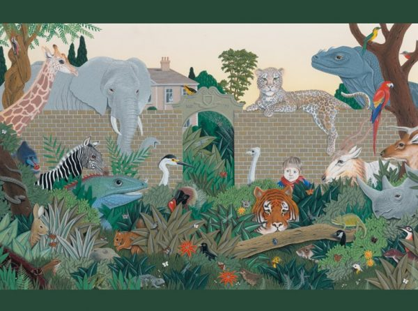 Mike Wilks - Beyond the Garden Gate 300 Large Piece Jigsaw Puzzle
