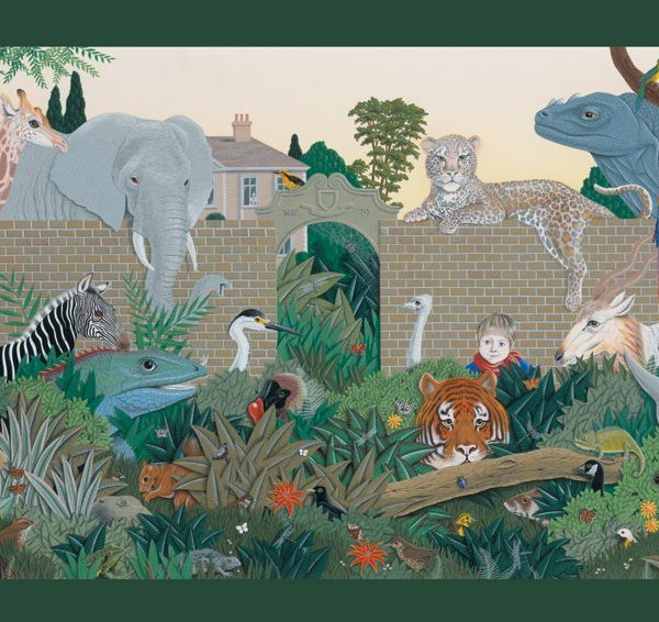 Mike Wilks – Beyond the Garden Gate 300 Large Piece Jigsaw Puzzle