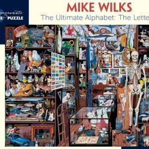 Mike Wilks - the Letter S 1000 Piece Pomegranate Jigsaw Puzzle
