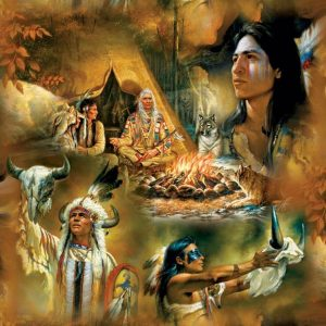 Native American Dreams 1000 Piece Jigsaw Puzzle