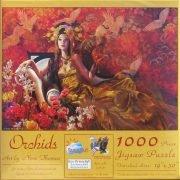 Orchids 1000 PC Sunsout Jigsaw Puzzle