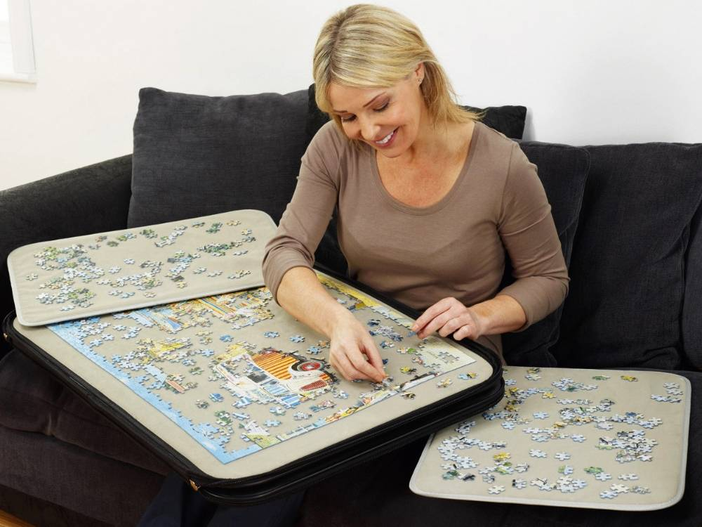 Jigsaw Puzzle Case Portapuzzle Deluxe 1000 Piece