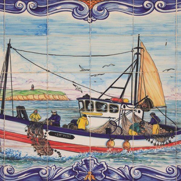 Portuguese Tiles of Ferragudo 1000 Piece Jigsaw Puzzle