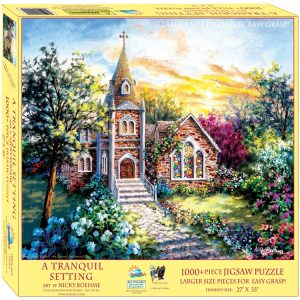 A Tranquil Setting 1000 XL Piece Jigsaw Puzzle
