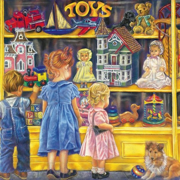 Shopping for Toys 300 Larger Piece Jigsaw Puzzle
