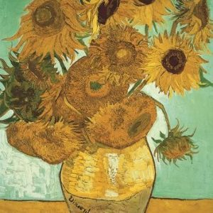 Van Gogh Sunflowers 500 Piece Jumbo Jigsaw Puzzle