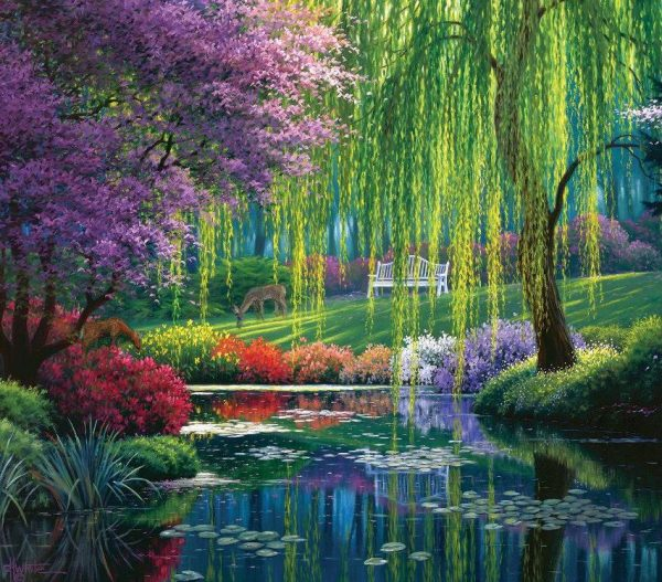 Willow Pond 300 Larger Piece Jigsaw Puzzle