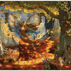 Woodland Fairy 1500 Piece Jigsaw Puzzle
