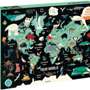 Your World 1000 Piece Jigsaw Puzzle - Mudpuppy