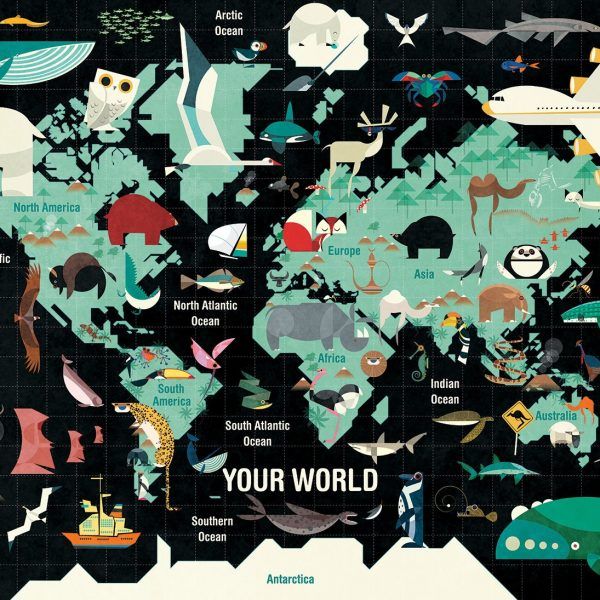 Your World 1000 Piece Mudpuppy Jigsaw Puzzle