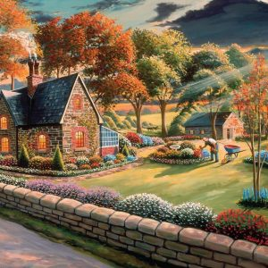 A Safe Haven - Gardener's Glory - 1000 Piece Puzzle