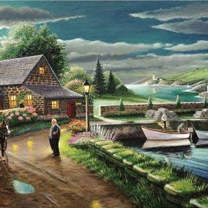 A Safe Haven - Hidden Harbour - 1000 Piece Puzzle