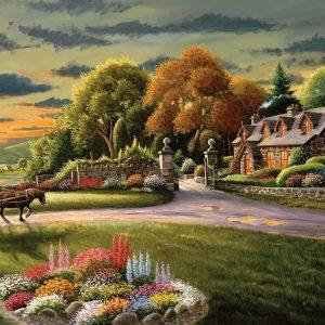 A Safe Haven - Lakeside Cottage - 1000 Piece Puzzle