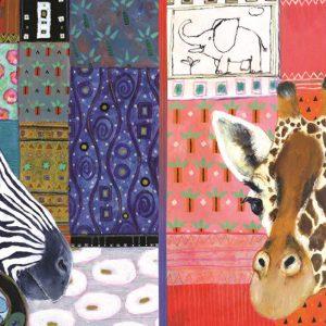 African Art 1500 Piece Jigsaw Puzzle