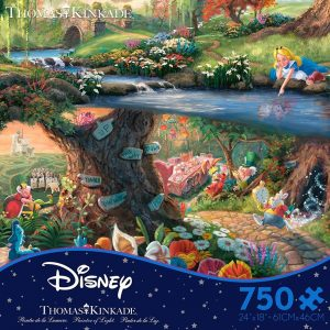 Alice In Wonderland 750 Piece Ceaco Jigsaw Puzzle
