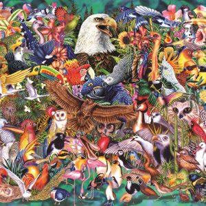 Animal Kingdom 1000 Piece Puzzle