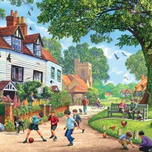 Around Britain - Brenchley Village, Kent 1000 Piece Puzzle