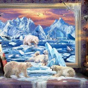 Art to Life - Arctic Ice Bears - 1000 Piece Puzzle