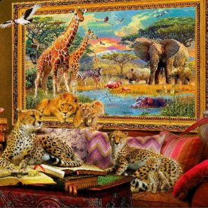 Art to Life - Savannah Still Life - 1000 Piece Holdson Puzzle
