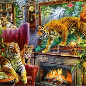 Art to Life - Tigers are Coming - 1000 Piece Holdson Puzzle