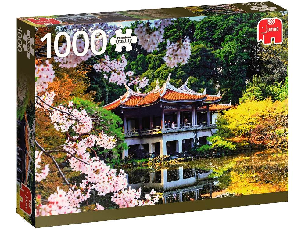 Blossom in Japan 1000 Piece Jigsaw Puzzle