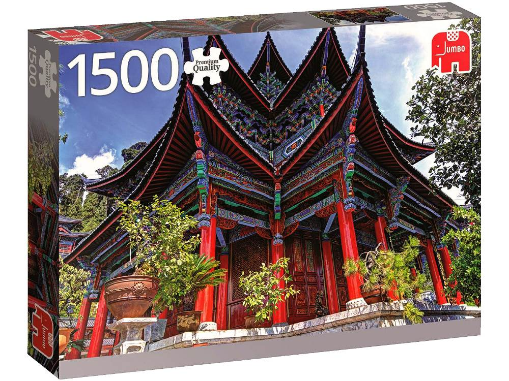 jumbo jigsaw puzzle chinese temple 1500 piece. Black Bedroom Furniture Sets. Home Design Ideas