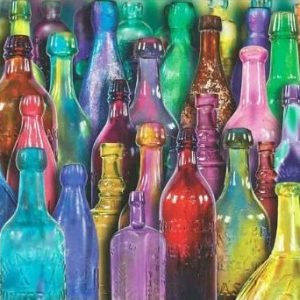 Colourful Glass 1000 Piece Anatolian Puzzle