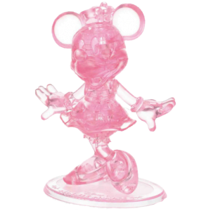 Disney 3d Minnie Mouse Crystal Puzzle