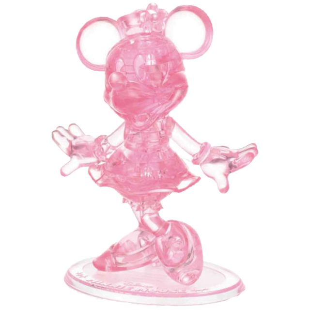 Disney Minnie Mouse 3d Crystal Puzzle From Bepuzzled