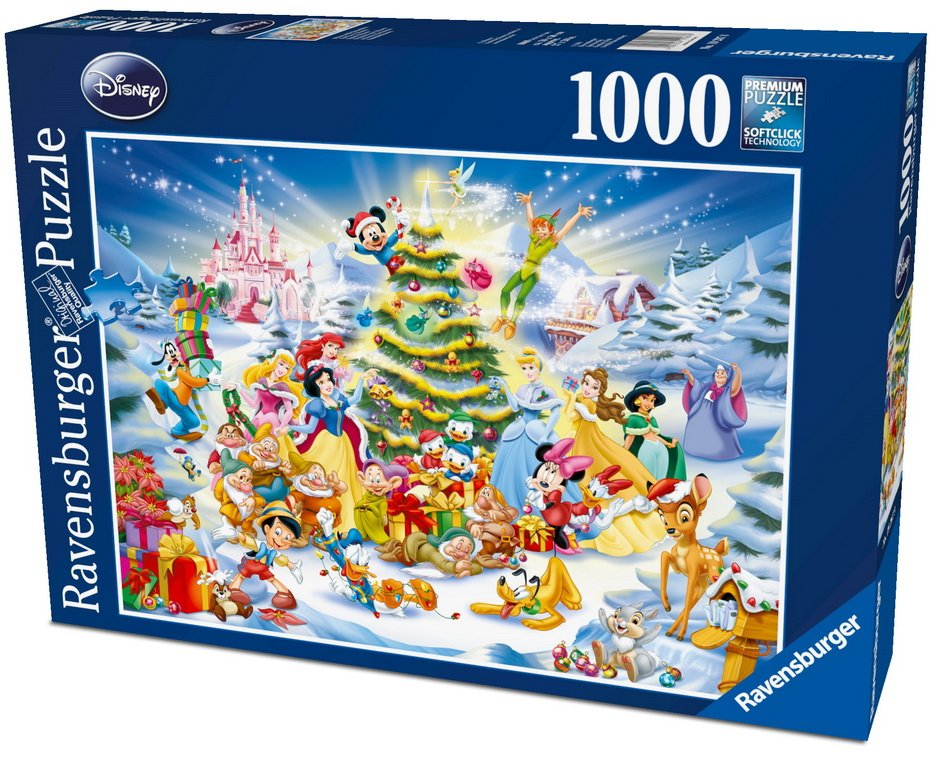 Disney Christmas Eve 1000 Piece Puzzle From Ravensburger