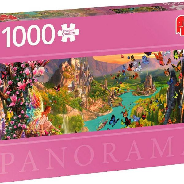Fairytales Panoramic 1000 Piece Puzzle