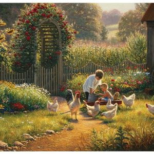 Feeding Time 1000 Piece Cobble Hill Puzzle