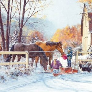 First Snow 275 Large Piece Puzzle