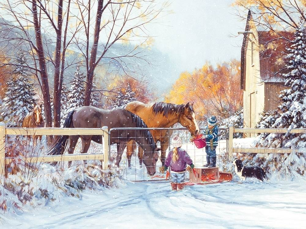 First Snow 275 Large Piece Jigsaw