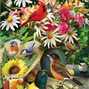 Garden Birds 500 Piece Cobble Hill Jigsaw Puzzle