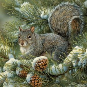 Gray Squirrel 275 Large Piece Puzzle