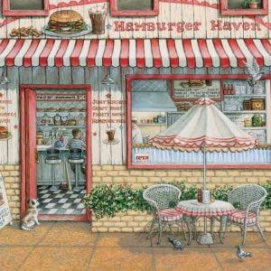 Hamburger Haven 500 Piece Cobble Hill Puzzle