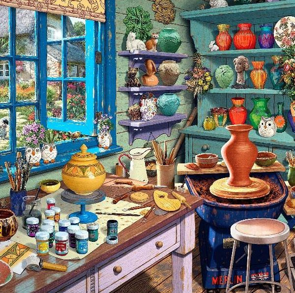 Hobby Sheds II – A Pottery Shed 500 XL Piece Puzzle