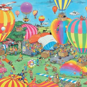 JVH Balloon Festival 2000 Piece Jigsaw Puzzle