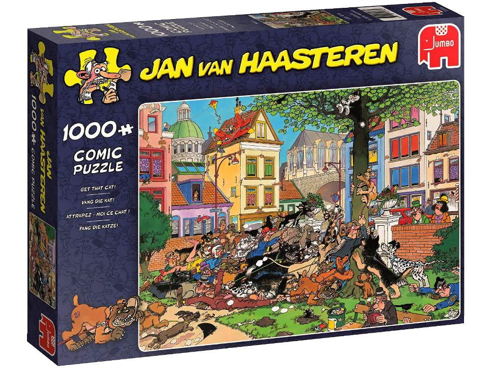 JVH Get that Cat 1000 Piece Jigsaw Puzzle